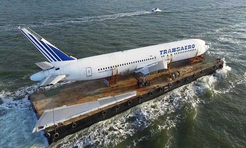 piatto Transaero-Boeing 767