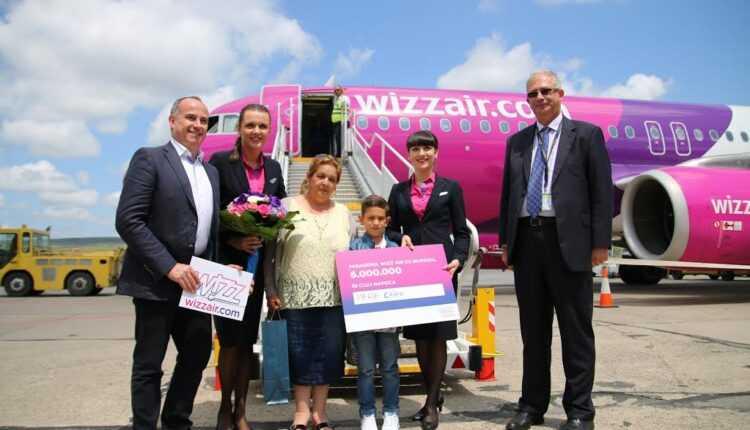 Wizz Air a transportat 6 milioane pasageri din/spre Cluj
