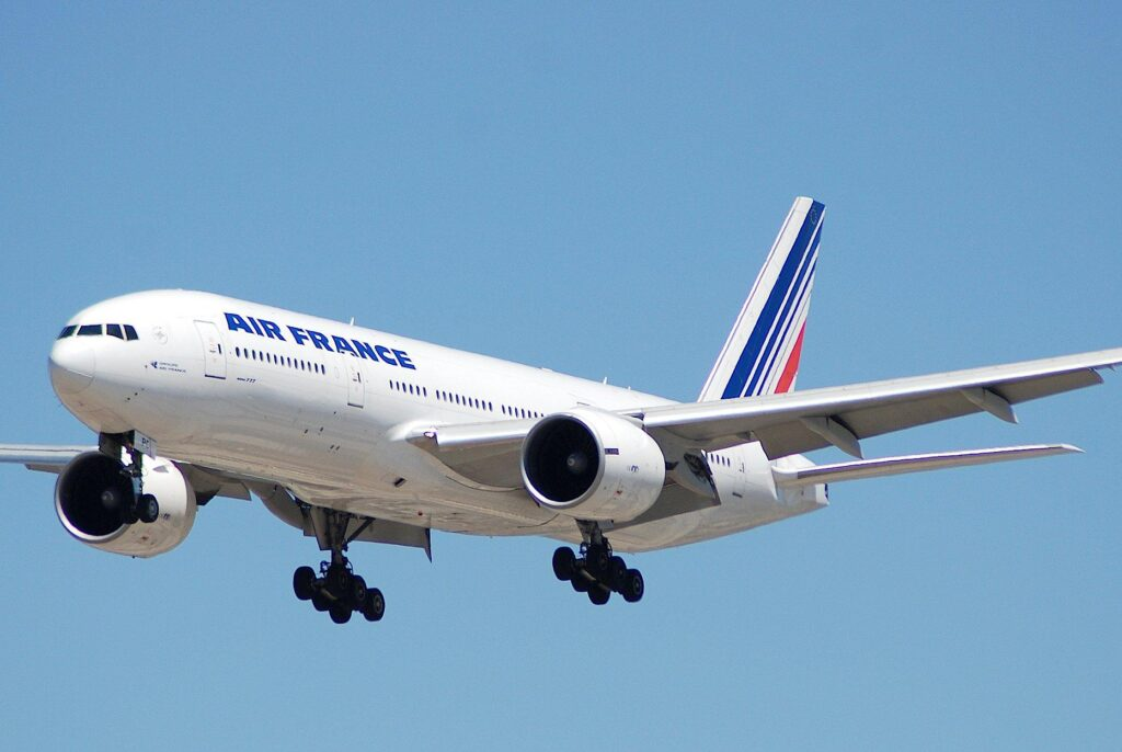 Air-France-Boeing 777-200