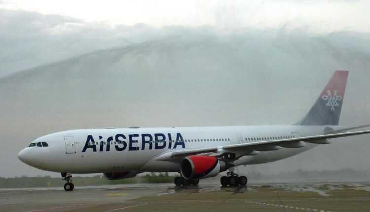 Airbus A330-200 Air Serbia pregătit de zborurile comerciale
