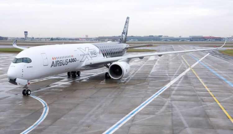 Airbus A350 XWB, prezentat în China