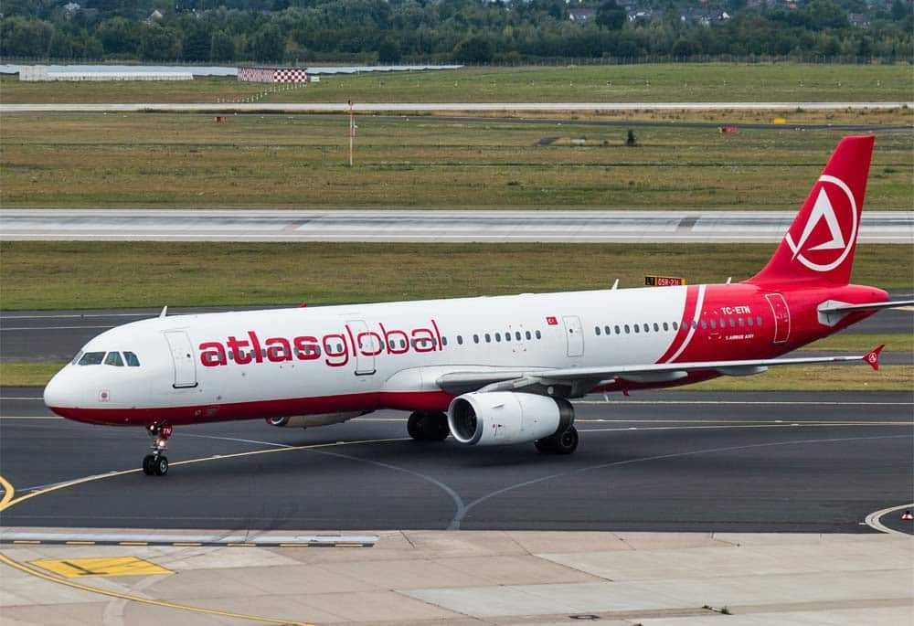Airbus A321 AtlasGlobal Airlines