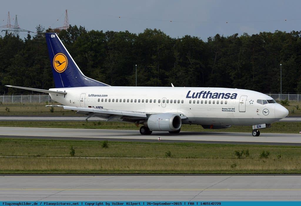 Boeing 737-300-Lufthansa