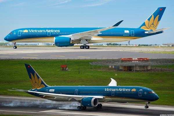 Boeing 787-vs-Airbus A350-Vietnam Airlines