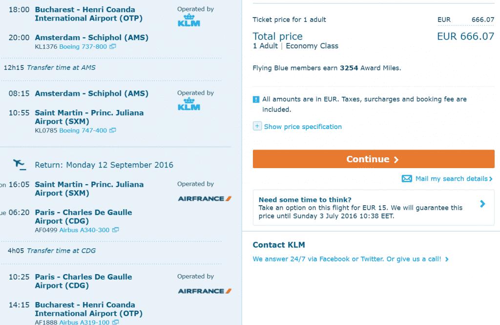 Bukarest-Saint-Martin-AF-KLM
