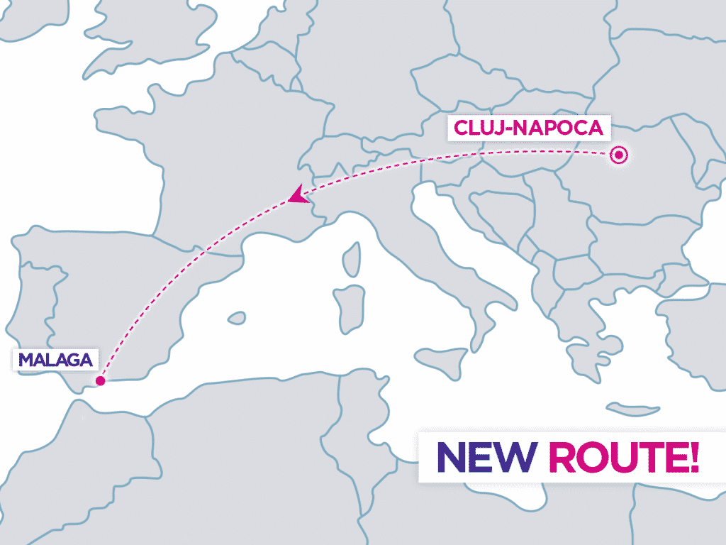 Cluj-Napoca-Malaga-Wizz-Air