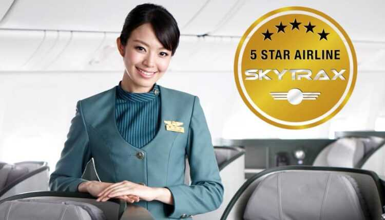 EVA AIR, a 8-a companie de 5 stele Skytrax