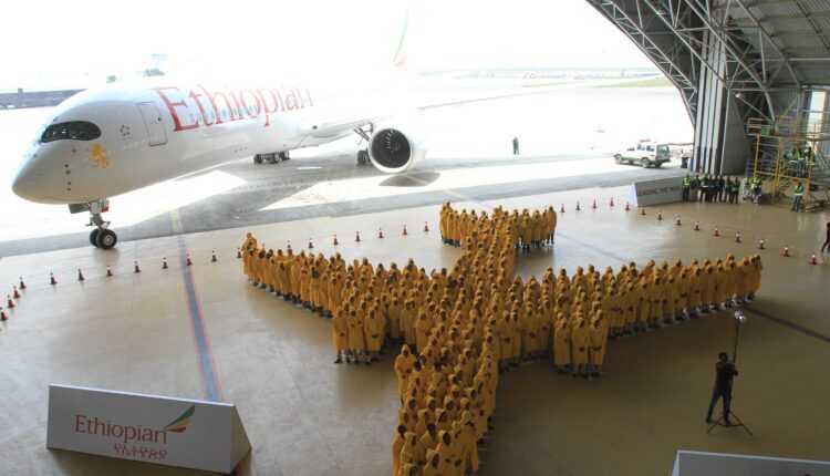 Ethiopian Airlines în Cartea Recordurilor cu avionul uman