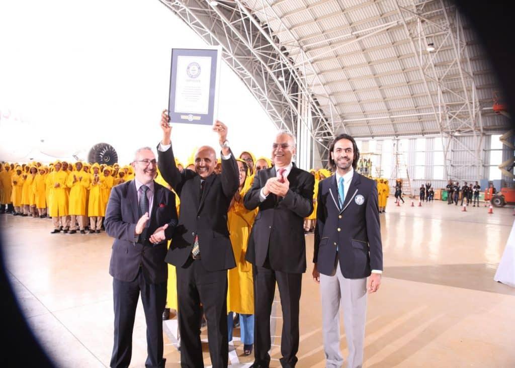 Ethiopian-Airlines-Cartea-Recordurilor-certificatul