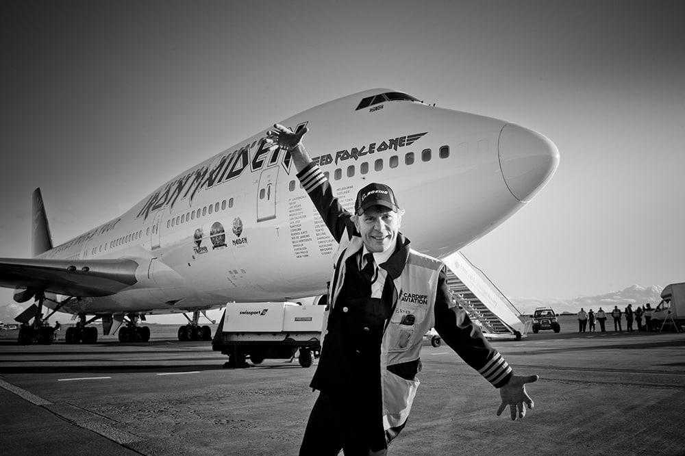 Ed Force One - Bruce Dickinson