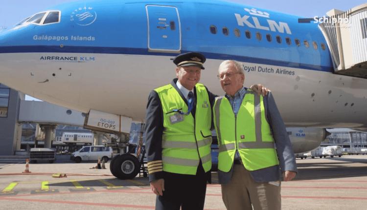Tatăl și-a dirijat fiul la ultimul zbor, pe Aeroportul Schiphol