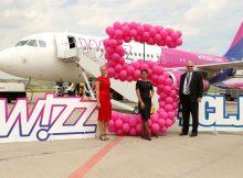Aeronava Airbus A320 Wizz Air la Cluj