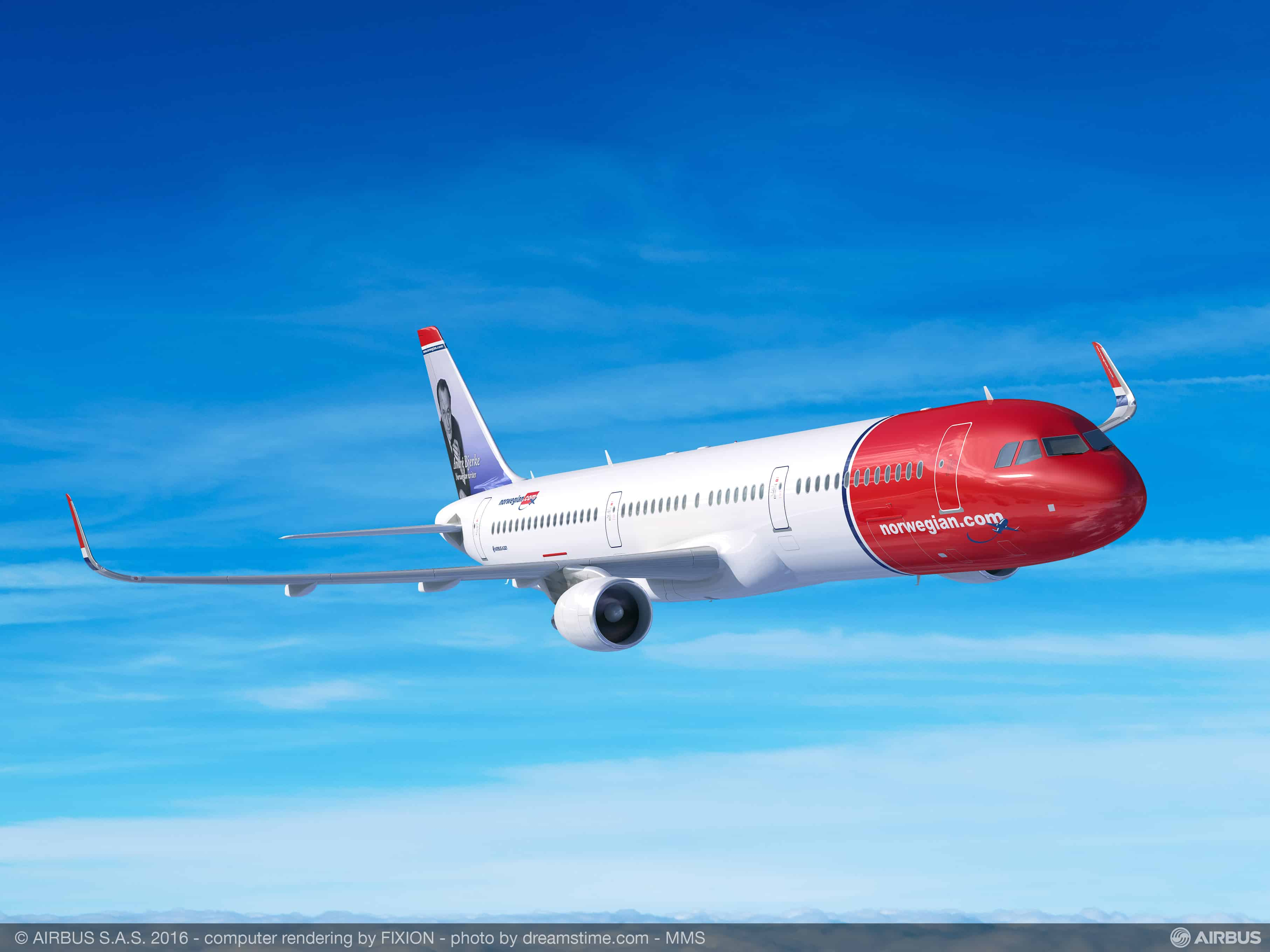 A321-Norwegian