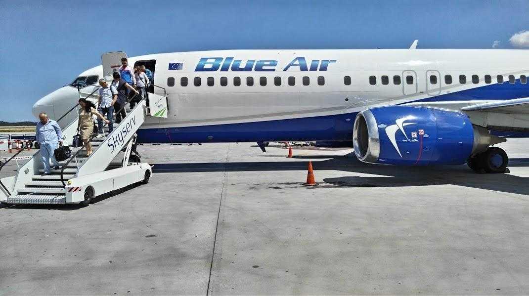 Blue Air în 2016: 3 590 129 de pasageri transportați