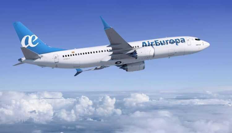 Air Europa, 20 de avioane Boeing 737 MAX 8
