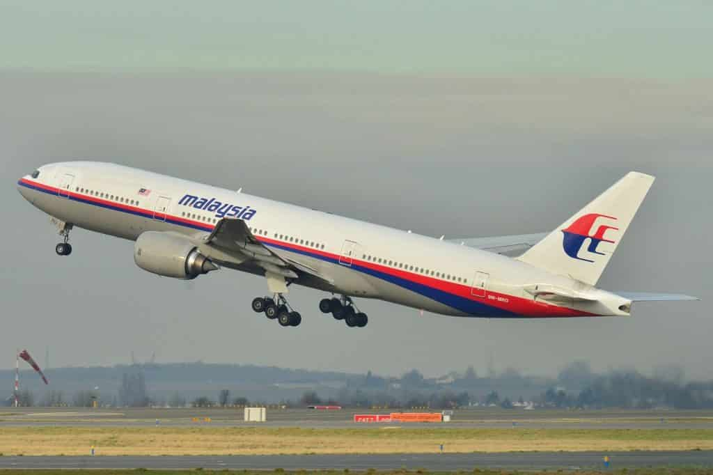 Boeing 777-200ER-Malaysia-MH370