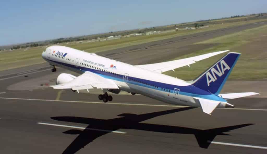Boeing 787-9-ANA-vol de démonstration