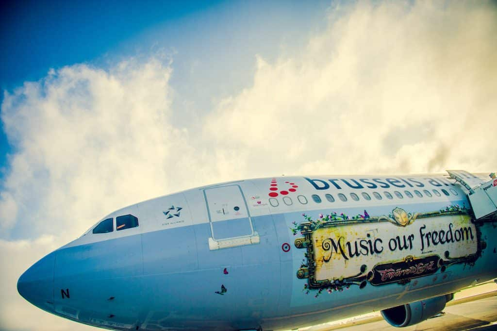 Bruxelles-airlines-Tomorrowland-A330