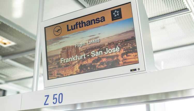 Frankfurt – San Jose cu Lufthansa şi serviciul Flying Lab