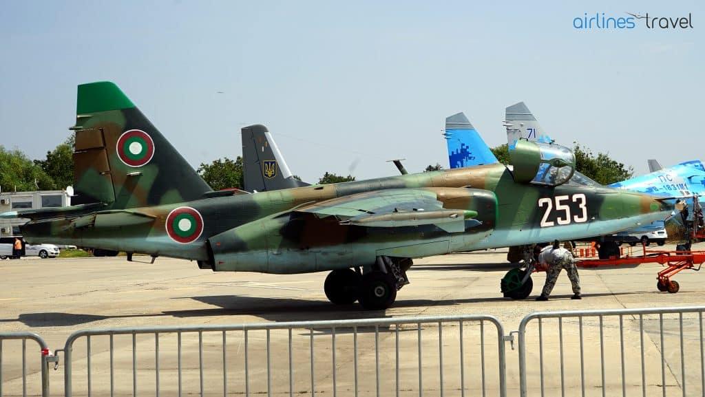 Sukhoi-SU-25-Fortele-Aeriene-Bulgaria
