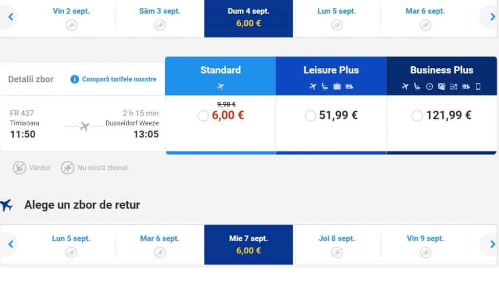 Timisoara-Germania-6-EURO-Ryanair
