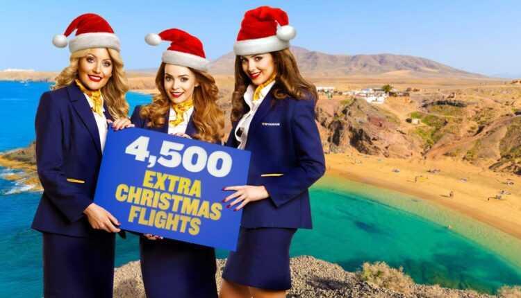 Ryanair, 4500 de zboruri suplimentare în perioada Crăciunului