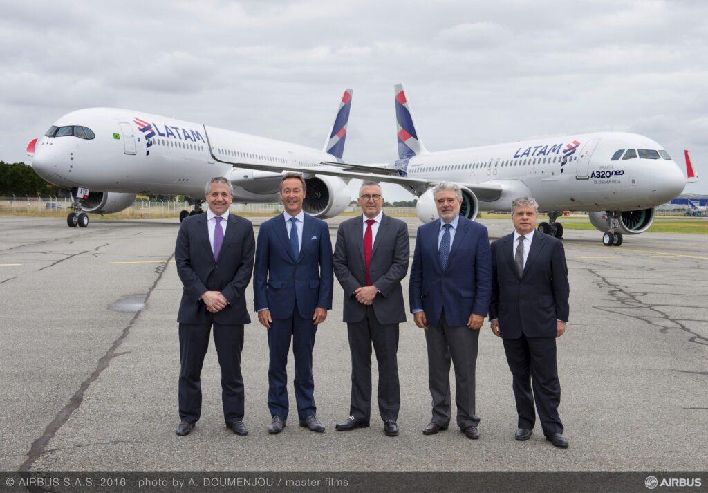 A350 XWB si A320neo LATAM