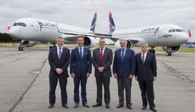 Primul Airbus A320neo LATAM Airlines Group a fost livrat