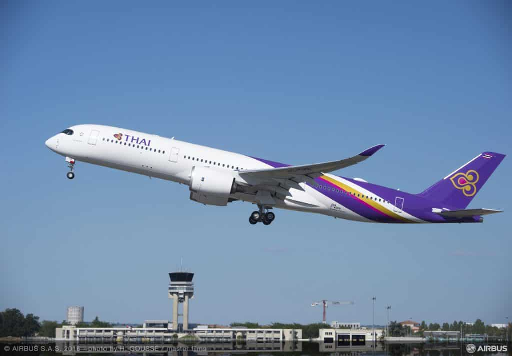 Airbus A350 XWB Thai Airways