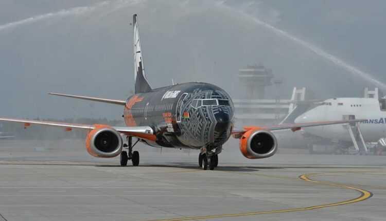 Boeing 737-300 Belavia World of Tanks