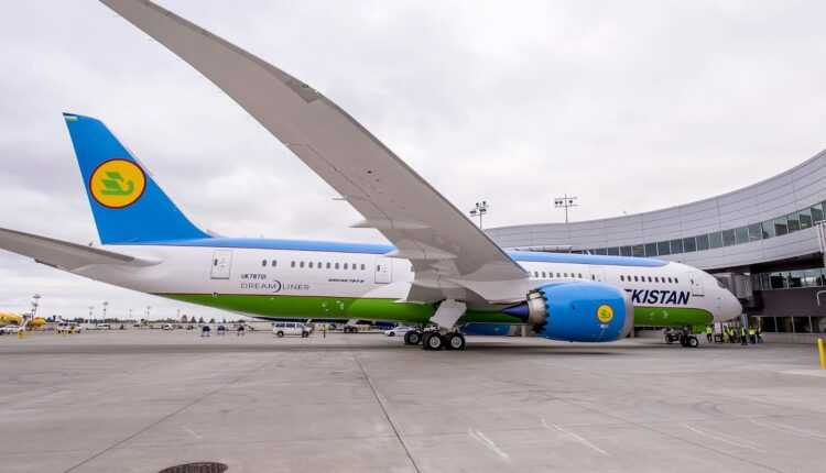 Primul Boeing 787 Dreamliner Uzbekistan Airways a fost livrat