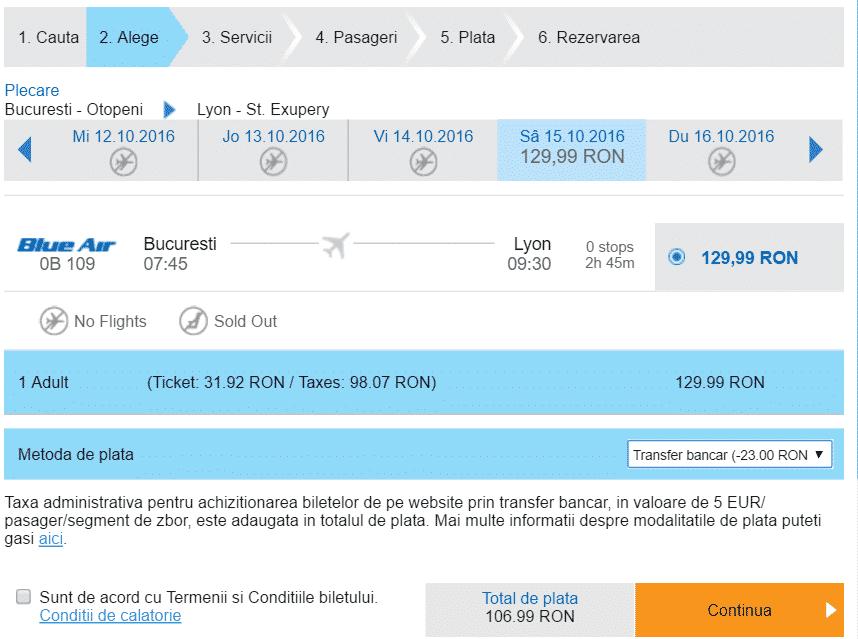 Bucuresti-Lyon-107-lei-Blue-Air