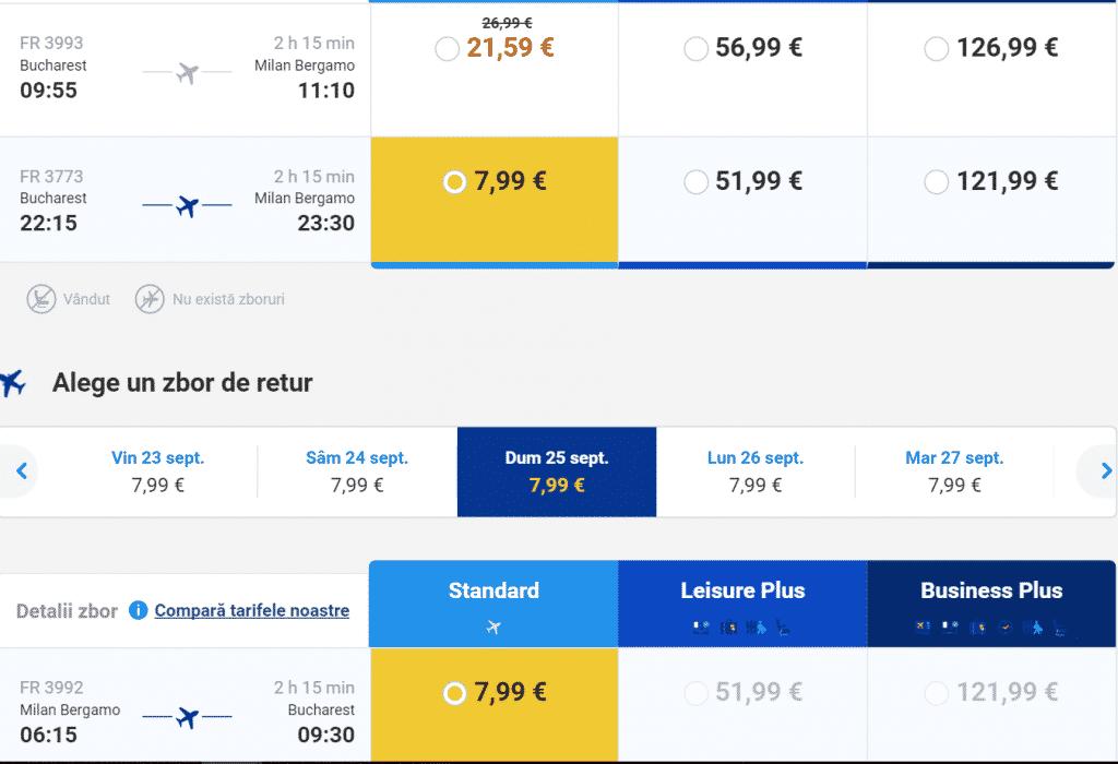 Bucuresti-Milano-7.99-EURO
