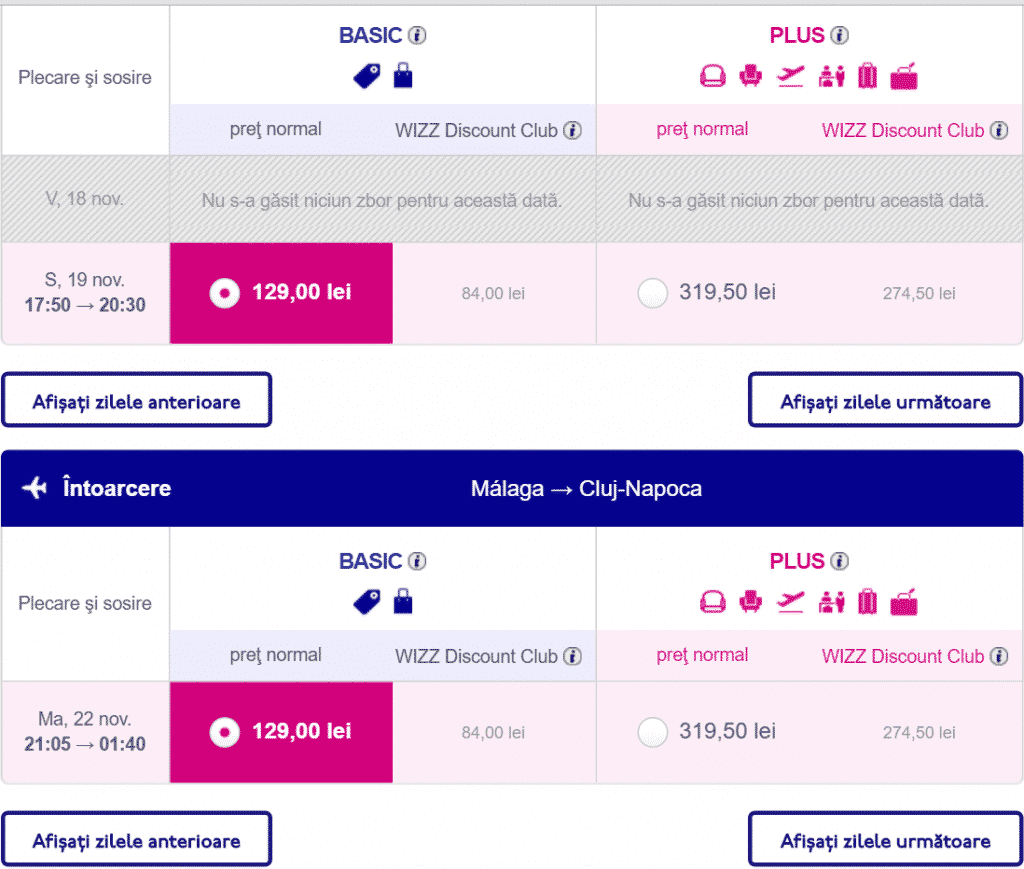 Cluj-Malaga-129-lei-Wizz-Air