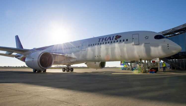 Primul Airbus A350 XWB Thai Airways a fost livrat