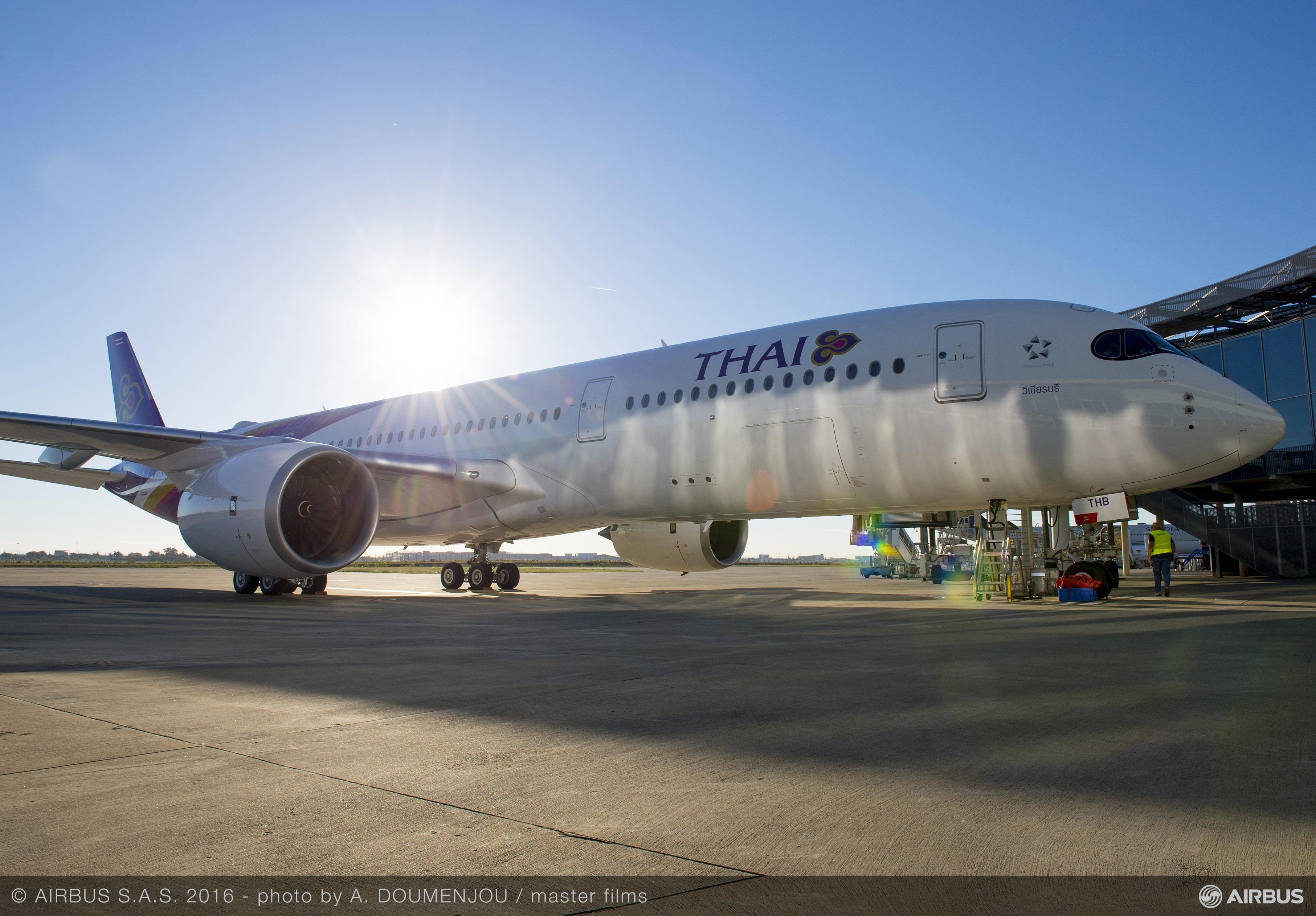 Airbus A350 XWB Thai Airways