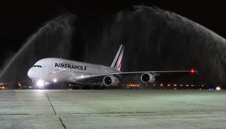 Airbus A380 Air France la Rio de Janeiro