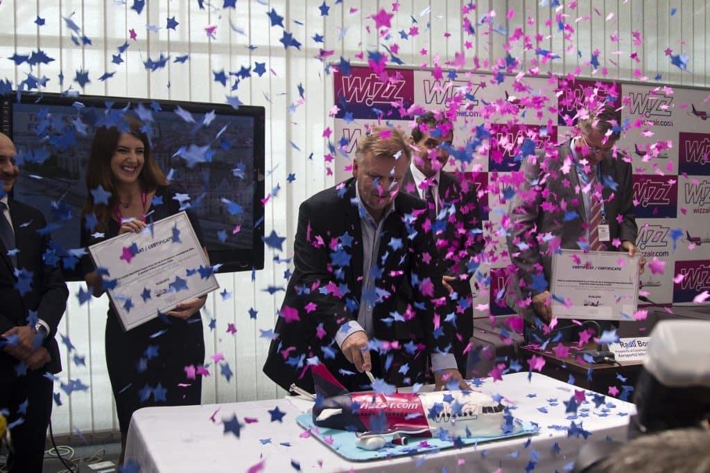 Inauguración de la base Wizz Air Sibiu 01