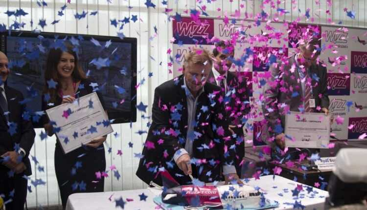 Inaugurare A 7-a bază Wizz Air din România, la Sibiu