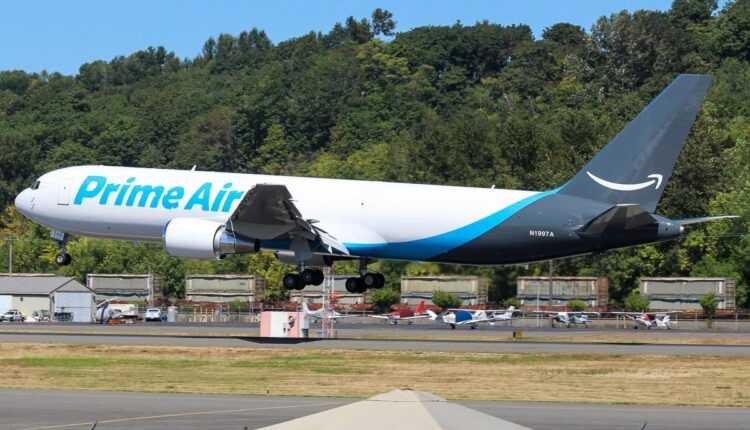 (Video) Primul Boeing 767-300ER Freighter Amazon Prime Air