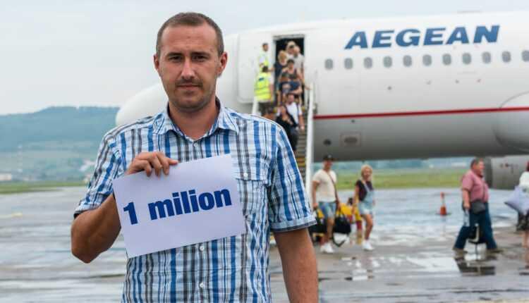 1 milion de pasageri prin aeroportul din Cluj, în primele luni din 2016