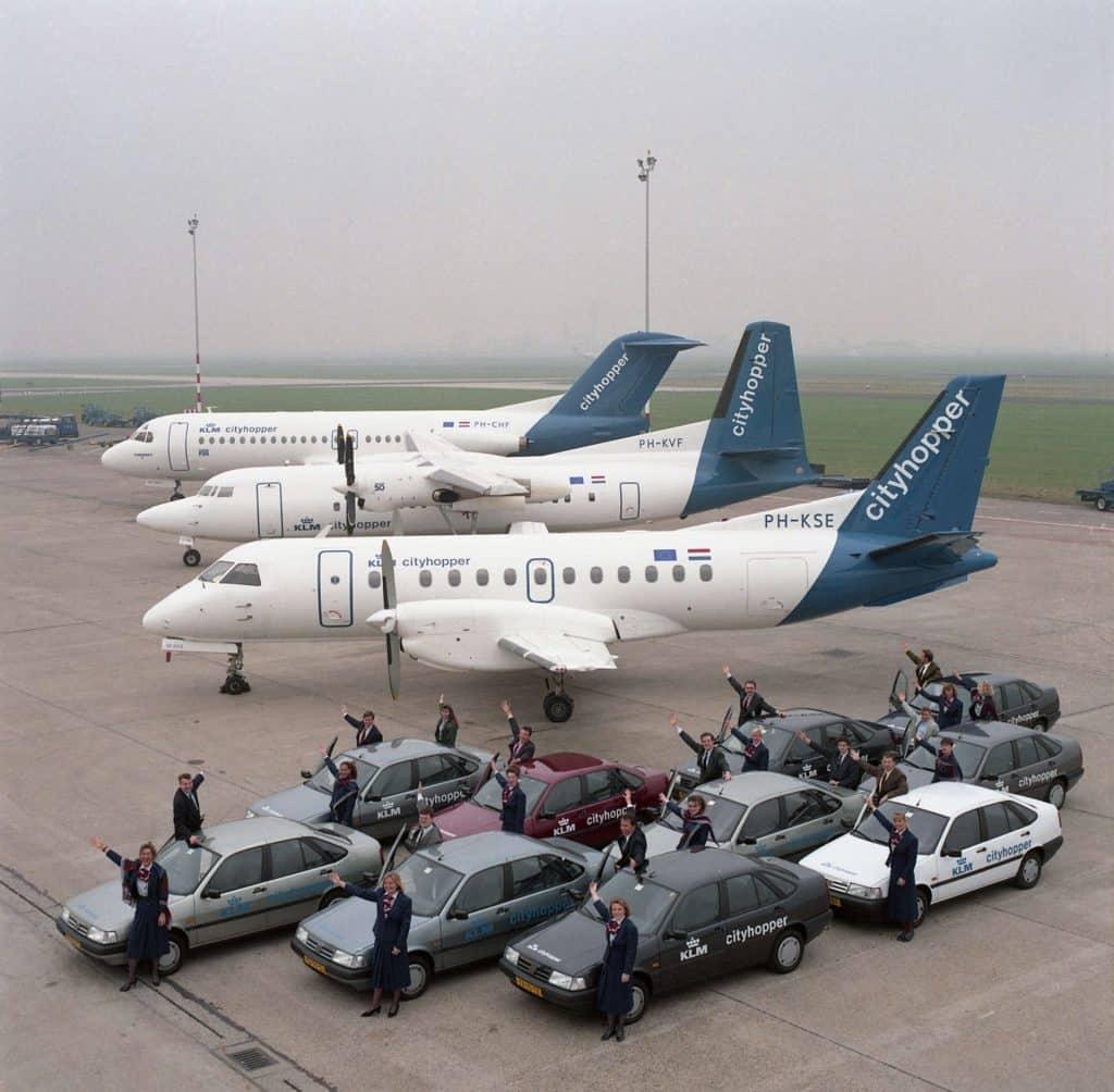 1991 promotie KLM Cityhopper