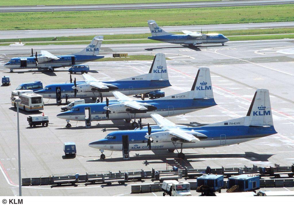 Flota KLM Cityhopper 2003