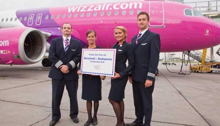 Primul zbor București – Budapesta cu Wizz Air, pe 21 septembrie 2016