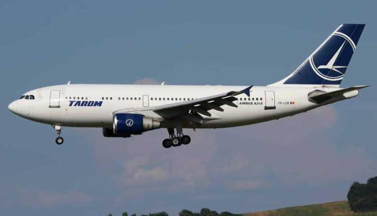 Aeronava Airbus A310 YR-LCB TAROM rămâne la sol. A fost pensionată!