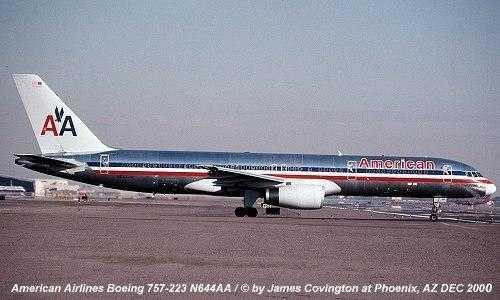 Boeing 757-200-n644aa Americano-companhias aéreas