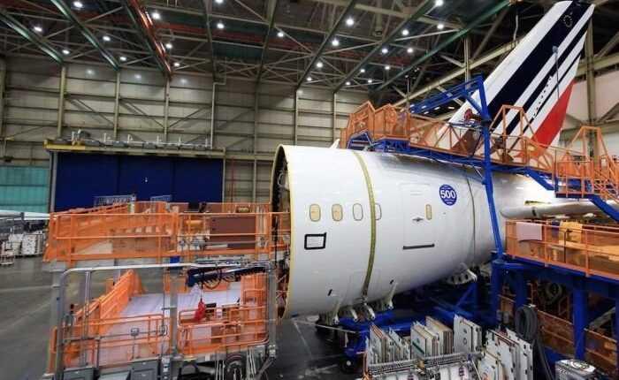 Al 500-lea Boeing 787 Dreamliner va fi livrat către Air France
