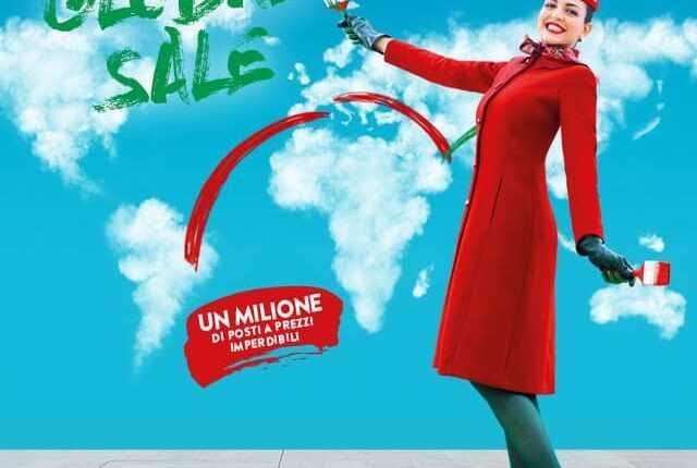 [Oferta Alitalia] 1 milion de bilete de la 39 EURO/segment