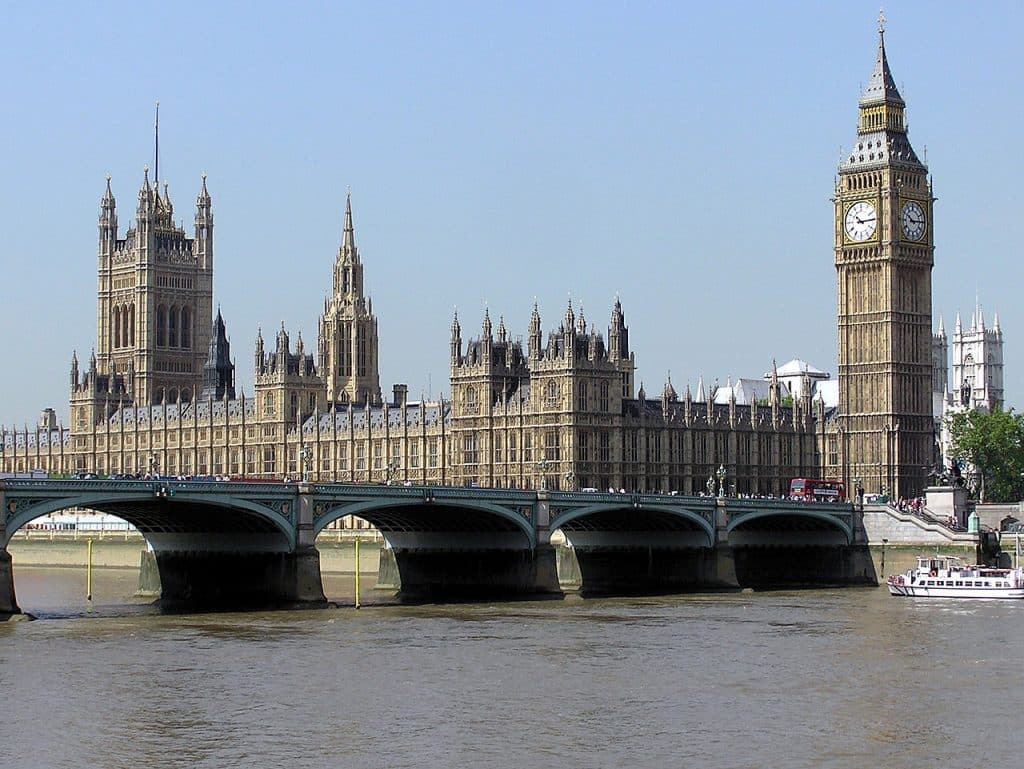 Parlement, Westminster, Londres