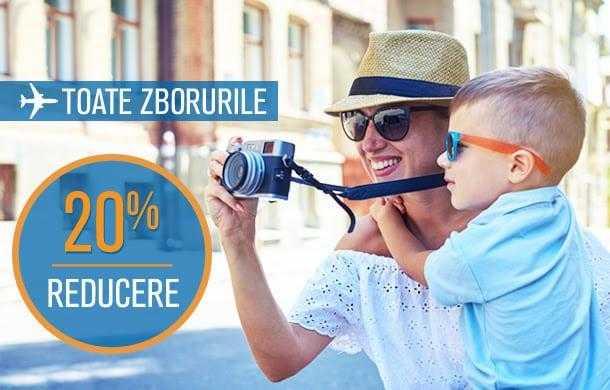 [Oferta Blue Air] 20% reducere pentru toate zborurile (2-4 septembrie 2016)